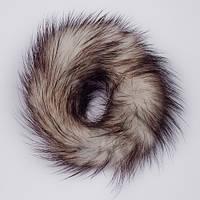 Резинка для волос меховая