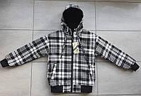 Двостороння демісезонна куртка-вітрівка на підлітка 6-10 років, фото 1