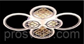 Люстра LED акриловая SL 5551/2+2+2 WH/RGB 221W LightM