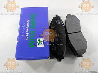 Колодки передние Chevrolet Lacetti Лачетти (4шт) (пр-во SHIN KUM Корея) З