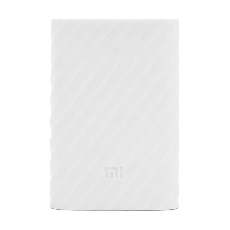 Чохол Xiaomi Mi Power Bank 10000mAh Silicone Protective Case White #I/S