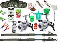 Подарок мужу рыбаку, Собранный спиннинг, Дешевые спиннинги, Готовые наборы для рыбалки, Комплекты рыболовные!