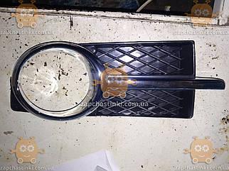 Накладка ПТФ CHEVROLET AVEO 3 (хром) правая (пр-во EuroEx Венгрия) ЕЕ 010981