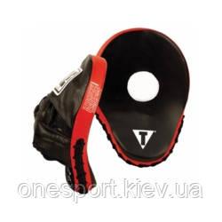 Лапы TITLE Incredi-ball Punch Mitts чёрный + сертификат на 100 грн в подарок (код 179-384983)