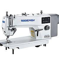 Gemsy SG 8802E-H Промышленная швейная машина  с сервомотором для средних и тяжелых тканей, фото 1