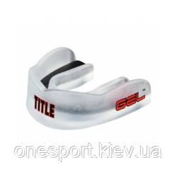 Капа TITLE GEL Max Channel Mouthguard взрослый прозрачный (код 179-574952)