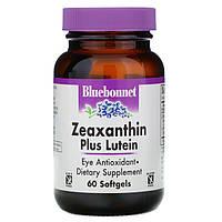 Зеаксантин + лютеїн Bluebonnet Nutrition 60 м'яких желатинових капсул