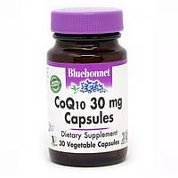 Коэнзим Q10 30 мг Bluebonnet Nutrition 30 вегетарианских капсул