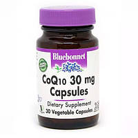 Коензим Q10 30 мг Bluebonnet Nutrition 30 капсул вегетаріанських