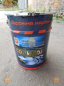 Мастило Солідол Ж-2 (Відро 17кг - 20л) (пр-во ДК Україна)