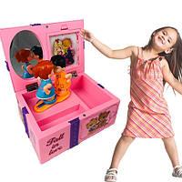 Музична дитяча шкатулка для прикрас 9209 (хлопчик з дівчинкою)