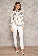 Рубашка женская молочная Nenka 3087-с01