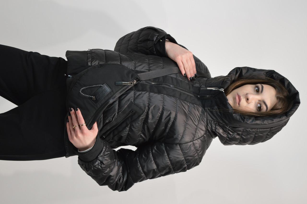 Крутка з сумкою Snow&Passion 8169 40 L Чорний