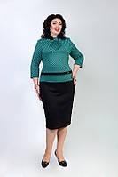 Стильное женское платье из французского трикотажа, фото 1