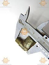 Штуфер угловой топливный поддона Газель ЗМЗ 405 М14 резьба (внутреняя - наружная) (пр-во ГАЗ), фото 2