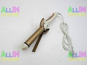Утюжок випрямляч плойка для укладання волосся гофре 4 в 1 Gemei GM-2962, фото 3