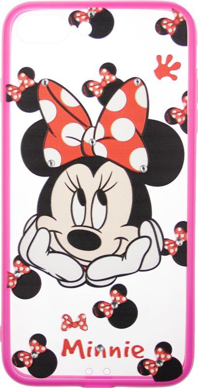 Чехол-накладка TOTO TPU Сartoon Network Case IPhone 7 Plus /8 Plus Mini Mouse Pink #I/S
