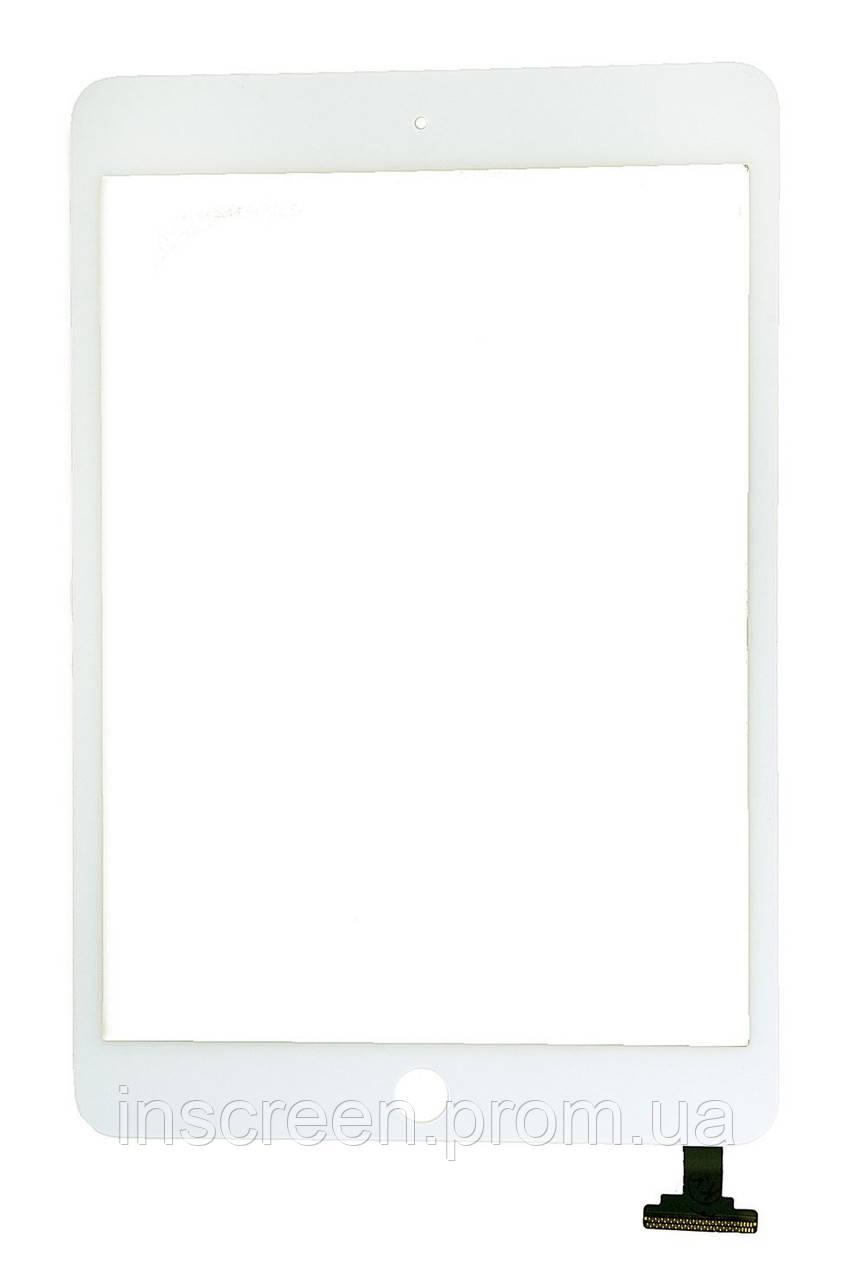 Сенсор (тачскрін) Apple iPad Mini A1432, A1454, A1455, iPad Mini 2 Retina A1489, A1490, A1491 білий Оригінал