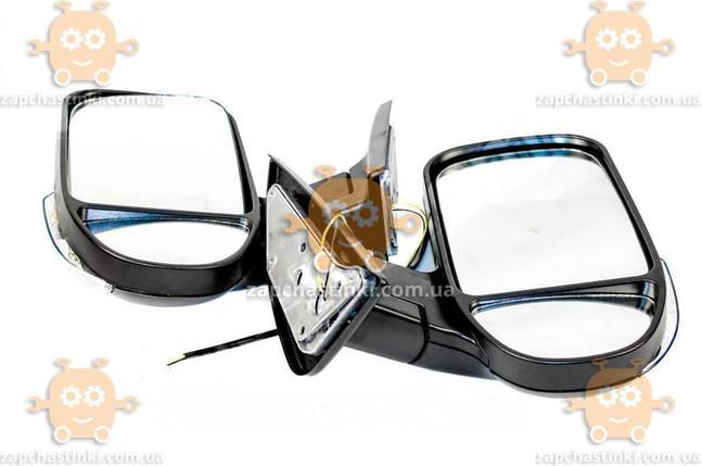 Дзеркало зовнішнє Газель, Соболь (2шт) чорні матові з поворотом (пр-во Автосвітло) М 3732113, фото 2