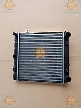 Радіатор основний ВАЗ 1111 ОКА алюмінієвий (вир-во ДААЗ) ПД 116681, фото 3
