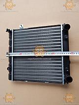 Радіатор основний ВАЗ 1111 ОКА алюмінієвий (вир-во ДААЗ) ПД 116681, фото 2