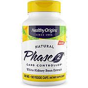 Белая Фасоль Фаза 2, Phase 2, Healthy Origins, 500 мг, 90 капсул