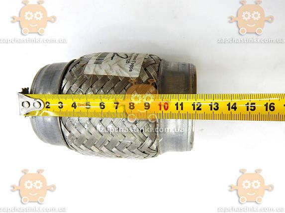 Гофра глушителя 64х120мм SPINTER 2 СЛОЯ (пр-во EuroEx Венгрия) ЕЕ, фото 2
