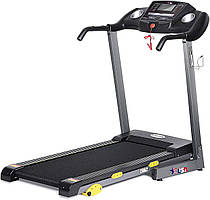 Электрическая беговая дорожка для дома складная USA Style до 130 кг черная Q5522