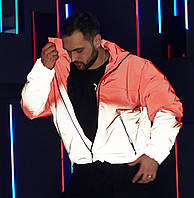 Куртка демісезонна чоловіча Пушка Огонь Yard червоно-рефлективна