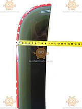Ветровики (дефлектор двери) Газель NEXT 2шт (на скотче) (пр-во ANV) ПД 238171, фото 3