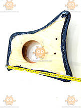 Карты боковые ВАЗ 2101 - 2107 возле педалей черные под колонки R13 (пр-во Россия) ПИР 40697, фото 3