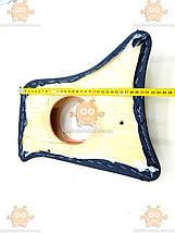 Карты боковые ВАЗ 2101 - 2107 возле педалей черные под колонки R13 (пр-во Россия) ПИР 40697, фото 2