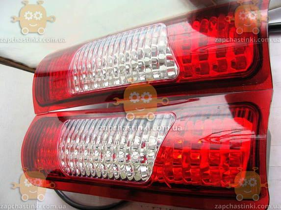 Фонарь Газель 2705, Соболь, ВАЗ 2110 ПИКАП ТЮНИНГ диодный ЛЕВЫЙ (пр-во ДК), фото 2