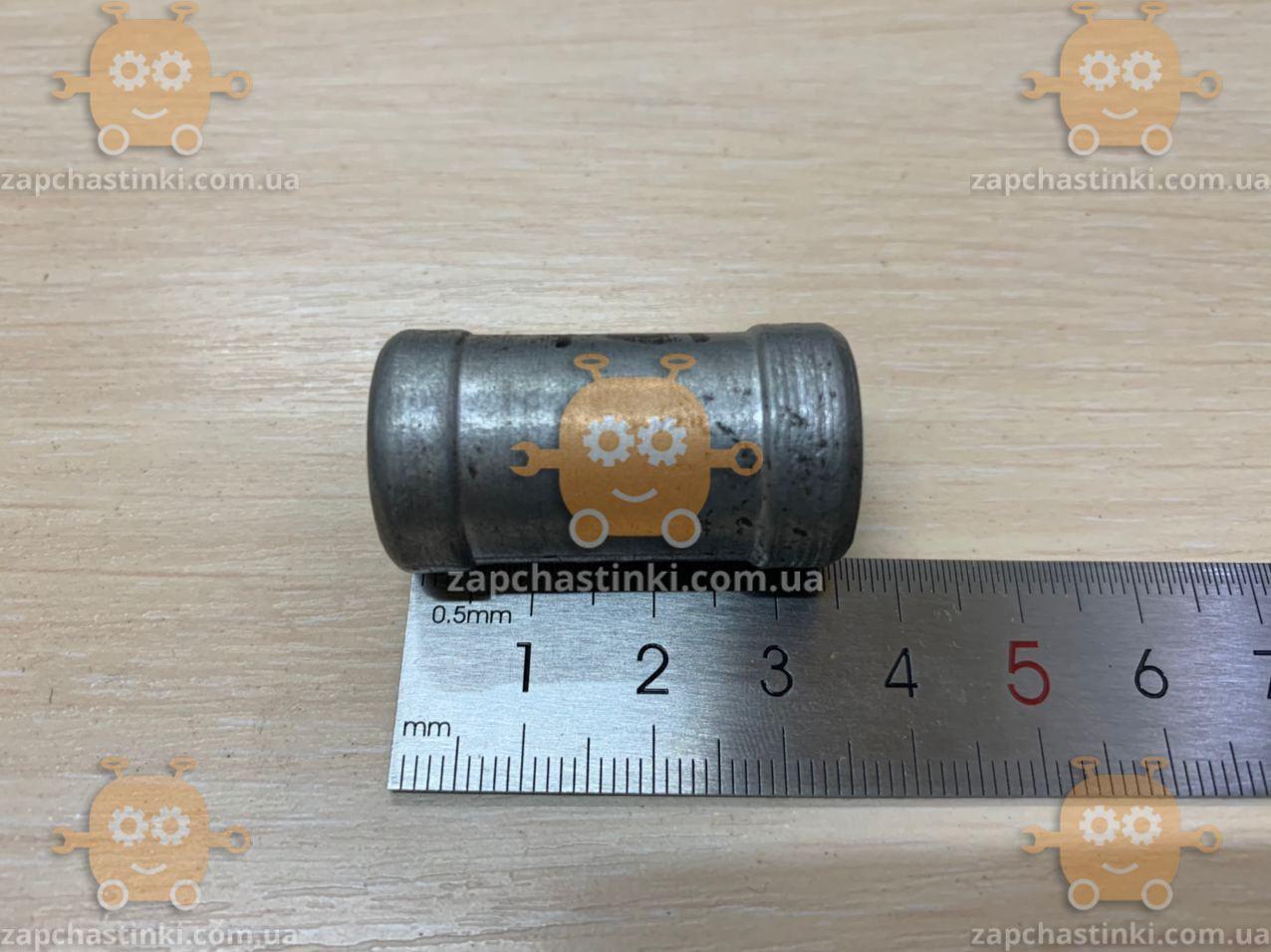 Двойник для шланг 18х18мм силумин переходник короткий (тосол, ГБО) (пр-во Россия)