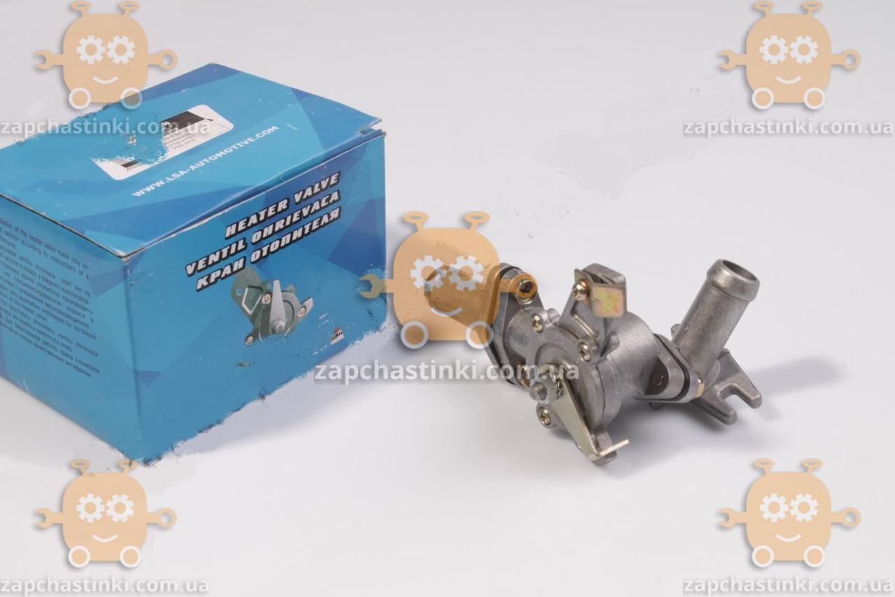 Кран печки Волга 31029 в сборе (отопителя) керамика (пр-во LSA) М 3819103