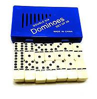 Домино в синем кейсе (17,5х10,5х2,5 см)