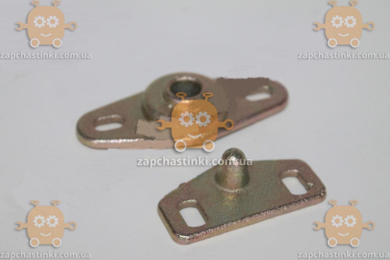 Фиксатор двери раздвижной Газель комплект (шип 1шт + корпус 1шт) металл (пр-во Россия) М 3807233