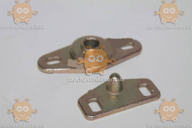 Фиксатор двери раздвижной Газель комплект (шип 1шт + корпус 1шт) металл (пр-во Россия) М 3807233, фото 2