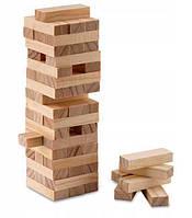"""Игра настольная """"Эко-Дженга"""", массив дерева (60 брусков)(28,5х7х7 см)"""