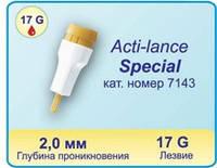 Ланцеты автоматические для забора крови Acti-lance Special лезвие 17 G (200шт.)