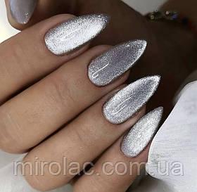 Хрустальная кошка Cat Shine Saga серебро, 8мл