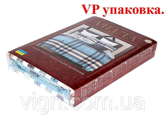 Постільна білизна, сімейний комплект, ранфорс, Вилюта «VILUTA» VP 19006, фото 2