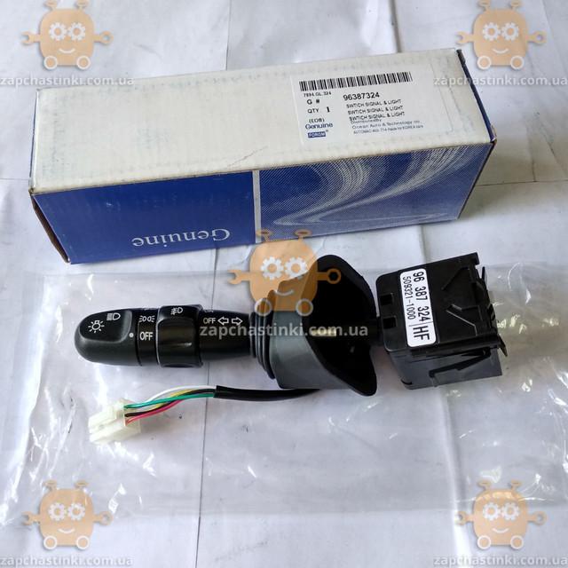 Перемикач світла і ПТФ Chevrolet Lacetti (пр-во GROG Корея) якість супер! АГ 39797