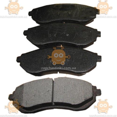 Колодки тормозные Aveo T250, T255 1.2-1.5 передние (к-кт 4 шт) (пр-во GROG Корея) качество супер! АГ 44151