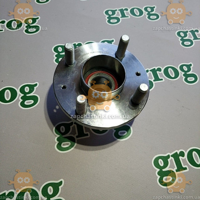 Ступица Chevrolet Aveo Т300 1,5/1,6 задняя с подшипником (без АBS) (пр-во GROG Корея) качество супер! АГ 39684