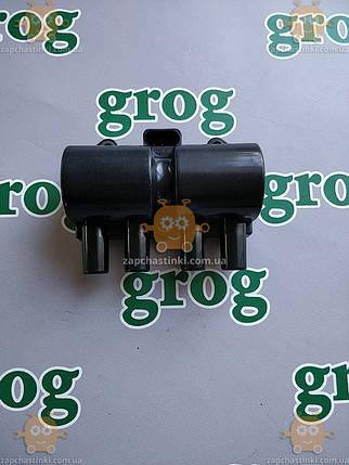 Котушка запалювання Lanos,Nexia 1,5 SOHC,Matiz 1,0,Aveo 1.4-1.6 3 контакту (GROG Корея) якість супер! АГ 39718, фото 2