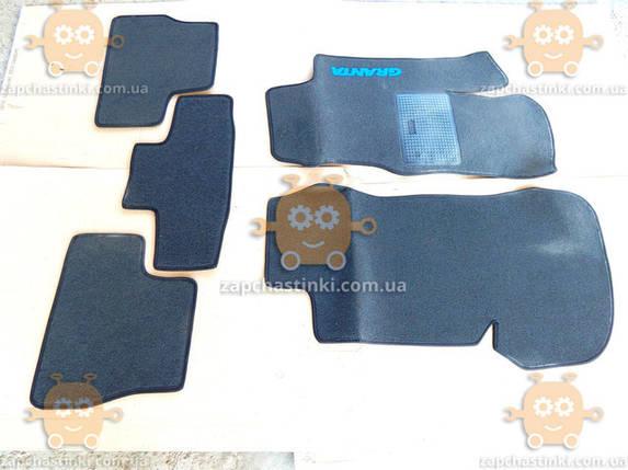 Коврики салона ВАЗ 2190 GRANTA ВОРС (5 частей) (пр-во АвтоВАЗ) М 3587133, фото 2