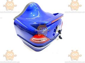 Багажник мото (кофра МЕРСЕДЕС) синяя ПД 88548, фото 2