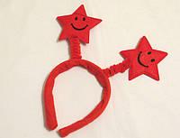 """Обруч """"Две звездочки"""" красный"""