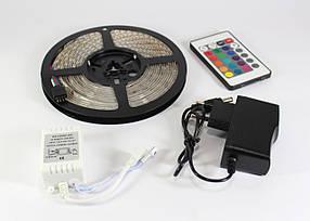 Светодиодная LED лента 3528 RGB Комплект (цветной диод)